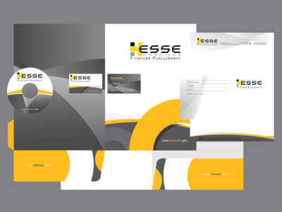 Corporate Identity design of hessefp.com